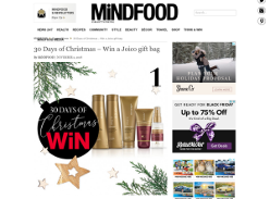 Win one of five Joico K-Pak Holiday Gift Bags