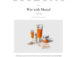 Win one of three Murad prize packs