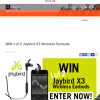 Win one of two pairs of Jaybird X3 wireless earbuds