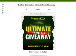 Win Our Ultimate Xmas Camping Gear Giveaway Package