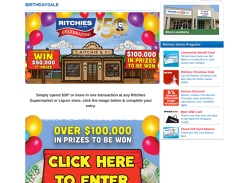 Win Over $100,000 in Prizes!