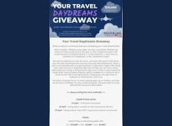 Win over $20,000 in Travel vouchers!