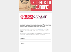 Win Return Flights to Europe for 2