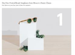 Win Sunglasses from Moscot x Future Classic