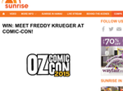 Win the chance to meet Freddy Krueger at Comic-Con!