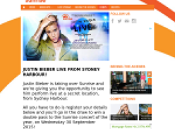 Win the chance to see Justin Bieber perform live from Sydney Harbour!