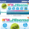 Win the Hisense Ultra VIP Exprerience to the Australian Open