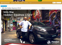Win the Holden Equinox LTZ-V