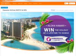 Win the holiday of a lifetime to Hawaii!
