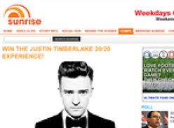 Win the Justin Timberlake 20/20 experience!