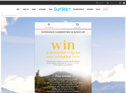 Win the trip of a lifetime for 2 to Whistler Canada!