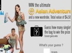 Win the Ultimate Asian Adventure & a New Wardrobe!