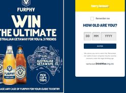 Win the ultimate Australian getaway for you & 3 friends!