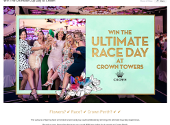 Win The Ultimate Cup Day at Crown