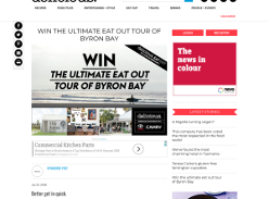 Win the Ultimate Eat-Out Tour of Byron Bay for 2