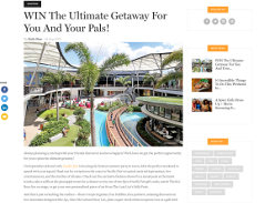 Win the ultimate getaway with your friends to Gold Coast