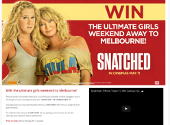 Win the ultimate girls weekend away to Melbourne!