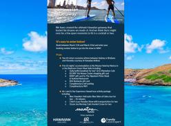 Win the ultimate Hawaiian holiday
