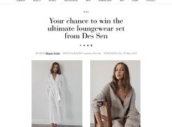 Win The Ultimate Loungewear Set From Des Sen