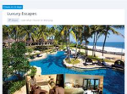 Win the ultimate luxury escape to Bali!
