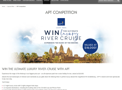 Win the ultimate luxury River Cruise for 2!