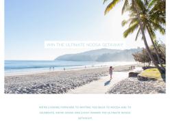 Win the ultimate Noosa getaway for 2!