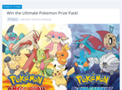 Win the ultimate Pokemon prize pack!