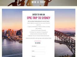 Win the ultimate Sydney getaway for you & 3 mates!