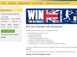 Win the ultimate UK adventure!