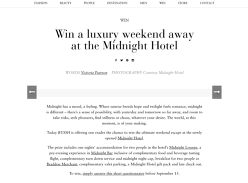 Win the Ultimate Weekend Escape