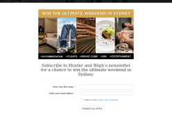 Win the ultimate weekend in Sydney