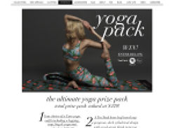 Win the ULTIMATE Yoga prize pack!