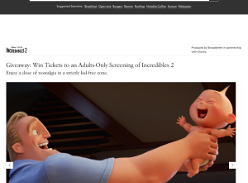 Win Tickets to an Adults-Only Screening of Incredibles 2