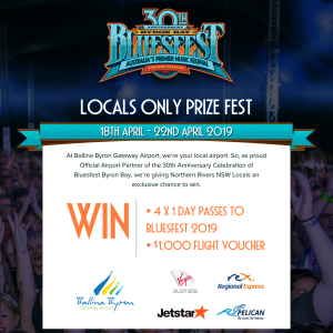 Ballina Shire Council - Win tickets to Bluesfest 2019