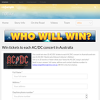 Win tickets to each AC/DC concert in Australia!