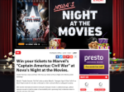 Win tickets to Marvel's