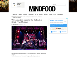 Win Tickets to School of Rock Musical