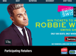 Win tickets to see Robbie Williams in Melbourne!
