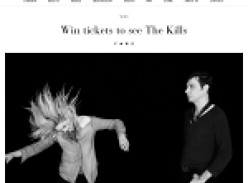 Win tickets to see 'The Kills' at the Enmore Theatre!