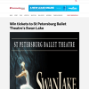 Win tickets to St Petersburg Ballet Theatre's Swan Lake