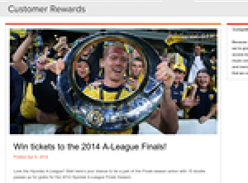 Win tickets to the 2014 A-League Finals!