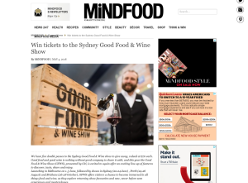 Win tickets to the Sydney Good Food & Wine Show