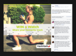 Win TomTom Spark Cardio+Music GPS Fitness Watch!