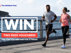 Win Two $500 Vouchers