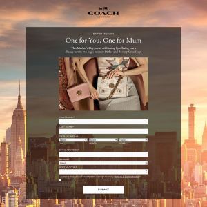 Coach Australia - Win two bags  our new Parker and Bowery Crossbody ... 9af3edaf118f4