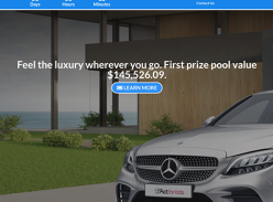 Win two brand new Mercedes Benz cars!