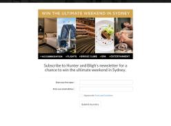 Win Ultimate weekend in Sydney
