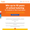 Win up to 10 years of school tutoring!