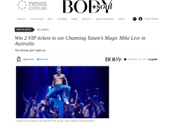 Win VIP Tickets to See Magic Mike LIVE