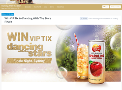 Win VIP Tix to Dancing With The Stars Finale